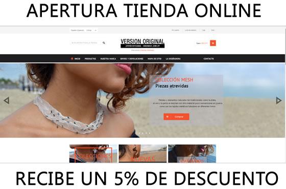Apertura Tienda Online Version Original